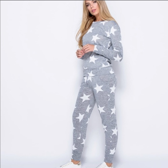 2279fb25e082 Boohoo Other - Boohoo star print jogger set